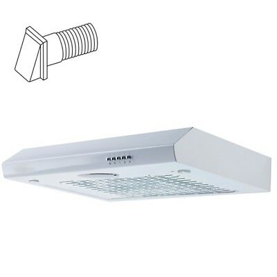 SIA VI161WH 60cm White Visor Cooker Hood Kitchen