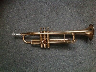 Vintage Boosey & Hawkes Regent Trumpet With Rudy Muck Mouthpiece in its Old Case
