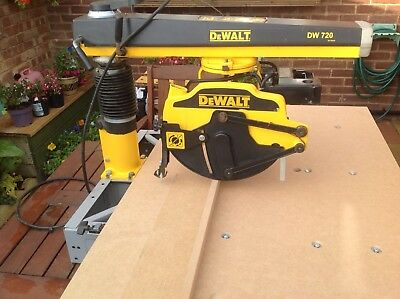 "Dewalt Radial Arm Saw DW720 New 48"" Table Top ,New Blade Part Exchange Possible."