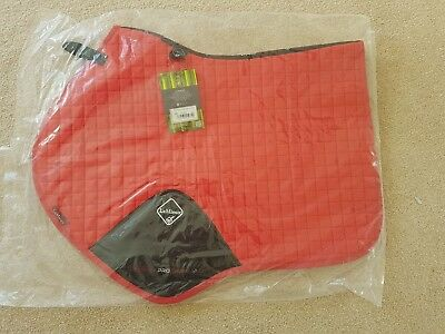 New Lemieux Prosport Suede Close Contact Square Coral Red Large