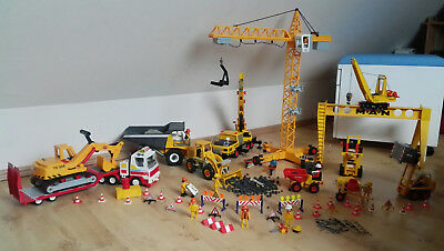 playmobil 3262 baustelle kran drehkran elektrisch eur 34 00 picclick de. Black Bedroom Furniture Sets. Home Design Ideas
