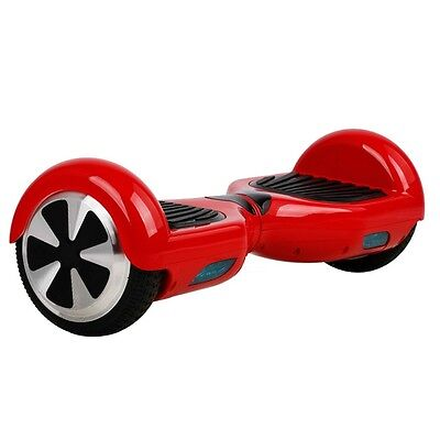 """6.5"""" Wheel Motorized Scooter hoover Board eBoard color RED - HOT"""