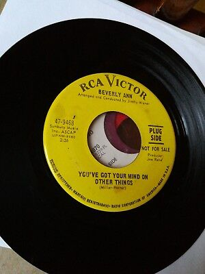 Original Rare Northern Soul - Beverly Ann, You've Got Your Mind