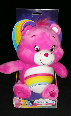 """Care Bears Series 1 - 12"""" Cheer Bear In Box -  Soft Toy  Plush - Brand New"""