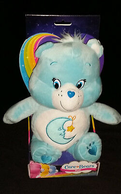 """Care Bears Series 1 - 12"""" Bedtime Bear In Box -  Soft Toy  Plush - Brand New"""