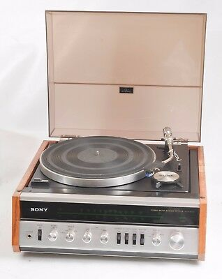 Vintage Sony Hp-511A Stereo Music System- Turntable / Amplifier / Tuner