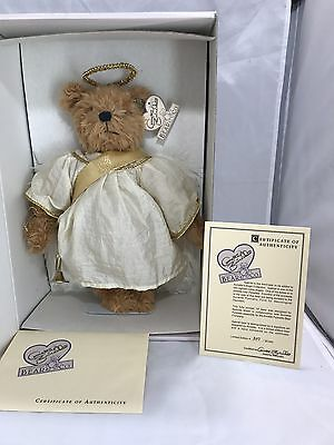 ANNETTE FUNICELLO - GABRIEL Jointed Bear with HORN and COA NIB Limited Edition