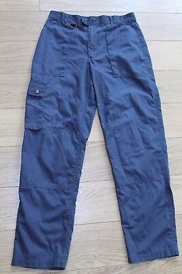 OFFICIAL SCOUTS ACTIVITY TROUSERS WAIST 32 INCH INSIDE LEG 32 inch GOOD COND.