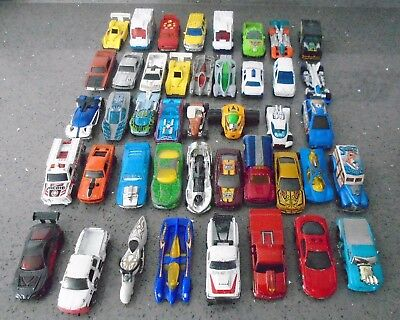 MASSIVE JOB LOT 43 Mattel Hot Wheels and Matchbox CARS Grab a BARGAIN!