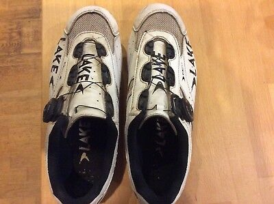 Road cycling shoes Lake carbon sole CX 217 size 43