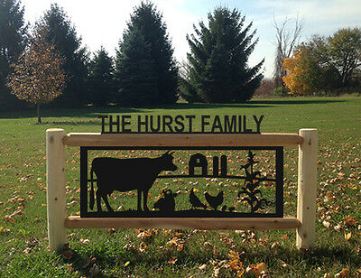 Dairy Cattle-Cows-Farm & Country Outdoor Signs-Farm And Ranch Decor