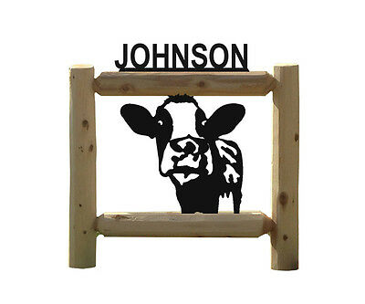 Cows-Dairy Cattle-Outdoor Signs-Farm & Country Signs