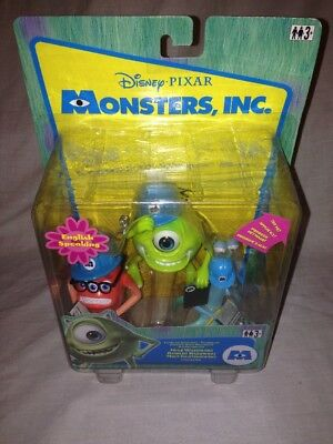 Monsters Inc Talking Hasbro Action Figure Disney Pixar Mike Wazowski Robert
