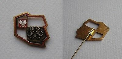 Polish Olympic Committee Olympic Games 1972 Badge