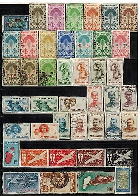 Lot of Madagascar Old Stamps Used/MH