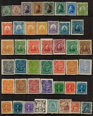 Lot of Honduras Old Stamps MH/Used