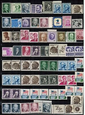 Lot of United States Old Stamps MNH