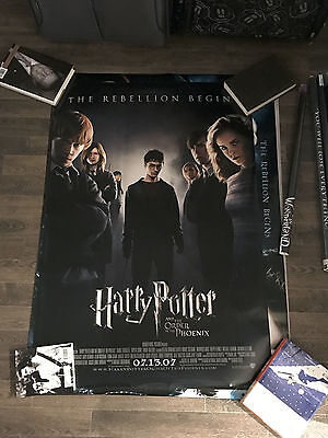 HARRY POTTER and the Order of the Phoenix ORIGINAL D/S ONE SHEET CINEMA POSTER