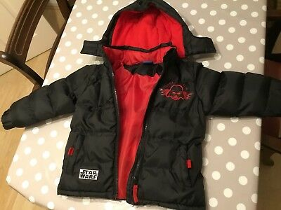 Boys Star Wars Coat / Jacket  Age 3-4 Years VGC