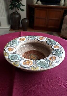 "Denby Flamestead Pin Dish 5.7""-Excellent"