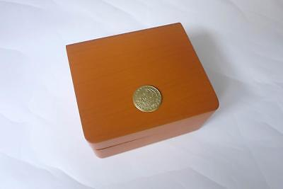 Omega Wood Watch Box