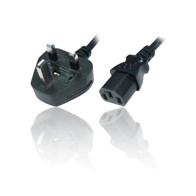2 M 3 Pin UK Kettle Lead Plug PC Cable Power Cord for,PC LCD Printer Montiner