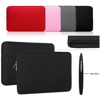 "Soft Universal Carry Bag Sleeve Case For 10"" 11""12""13""14"" Tablet Notebook Laptop"