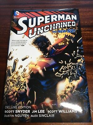 Superman Unchained HC (The New 52) by Scott Snyder, Jim Lee (Hardback, 2014)