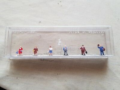 a model railway pkt of accessories for n gauge by by Merten of people