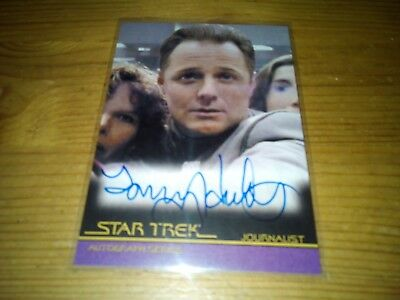 Star Trek Autograph Series Card Of Tommy Hinkley Card A 89