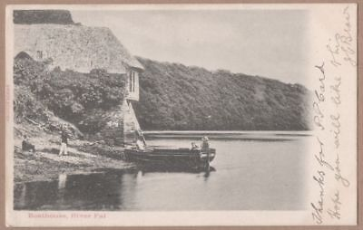 RIVER FAL postcard - posted 1903