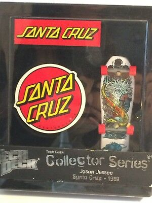 TECH DECK COLLECTOR SERIES Jason Jessee SANTA CRUZ Finger Board 1989