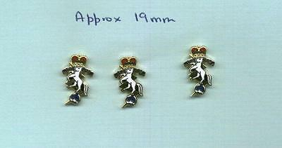 3 enamelled lapel badges for the R.E.M.E. with Pinnit Fitting