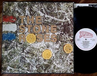 "The Stone Roses‎–""The Stone Roses"" Original 1989 UK embossed cover LP"