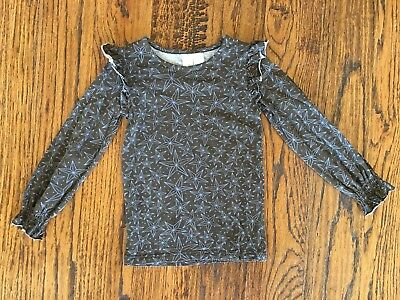 MATILDA JANE PAINT By NUMBERS Mahogany Brown Blue Stars Shirt Size 4 fall girls