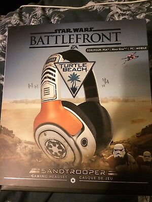 Turtle Beach Starwars Battlefront Sandtrooper Gaming Headset