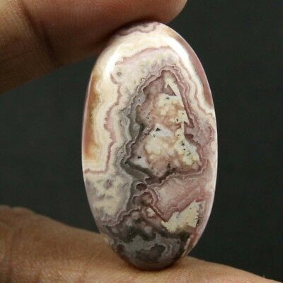 47.65 cts Natural Rhodochrosite Oval Loose Beautiful Cabochon Gemstone Jewelry