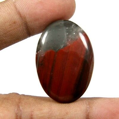 33.45 cts Superb Natural Rare African Bloodstone Oval Loose Gemstone Cabochon