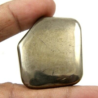 111.45 cts Natural Awsome Pyrite Apache Gold Cabochon Fancy Shape Loose Gemstone