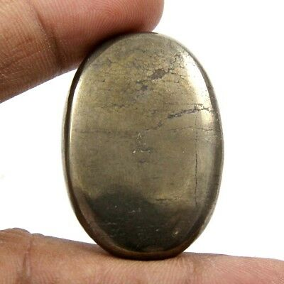 89.60 cts Natural Awsome Pyrite Apache Gold Cabochon Oval Shape Loose Gemstone