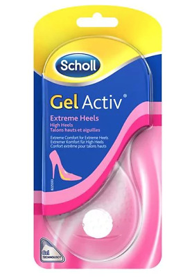 Scholl Gel Active Extreme Heels Womens Cushioning Insoles High Heels Christmas