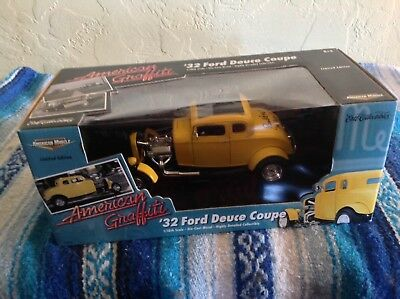 Ertl American Muscle American Graffiti '32 Ford Deuce Coupe 1/18 Limited Edition