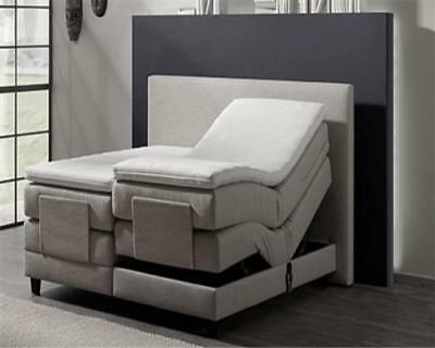 boxspringbett 160x200 eur 104 00 picclick de. Black Bedroom Furniture Sets. Home Design Ideas