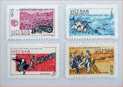 Vietnam - 1964, 10 th Anniversary Dien Bien Phu, Defeated French Army MNH 144