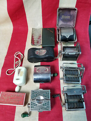 Vintage Safety Razor/ Stropper Lot Of 10