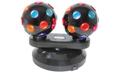 (UK Version) Double rotatif disco balles, AUTOPORTANTE