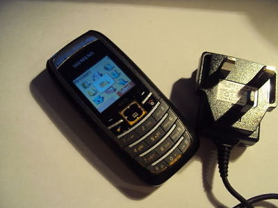 Retro  Siemens Ax72 Mobile Phone On Virgin/t-Mobile +Charger