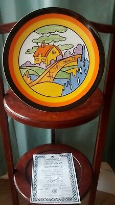 Beautiful Clarice Cliff Plate in excellent condition