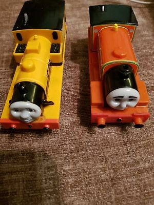 6 Thomas the Tank Engine Trackmaster trains/1 truck spares and repairs