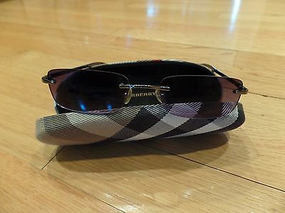 Authentic Burberry Sunglases With Case